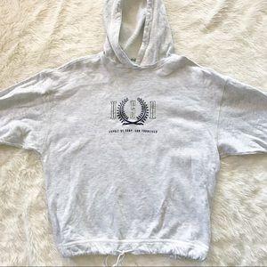 Esprit • 3/4 sleeve loose boxy fit hoodie